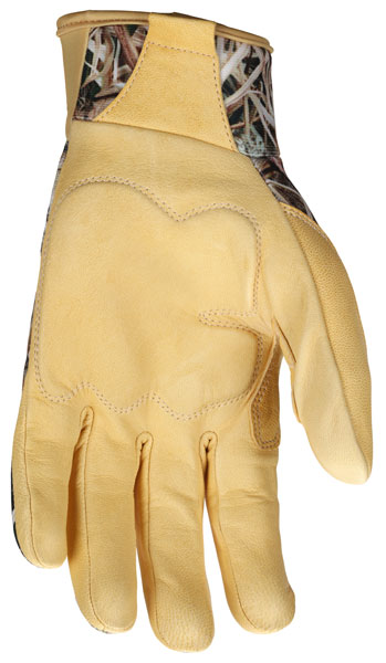 NEW ITEM! MO991 - MCR Safety multitask, Shadow Grass® Blades® pattern breathable material back, Palm reinforced with D3O®, Reinforced thumb crotch.