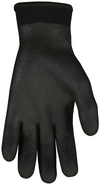 N9690FC - Ninja® Ice Fully Coated 15 Gauge black nylon, Acrylic terry inner, HPT fully coated