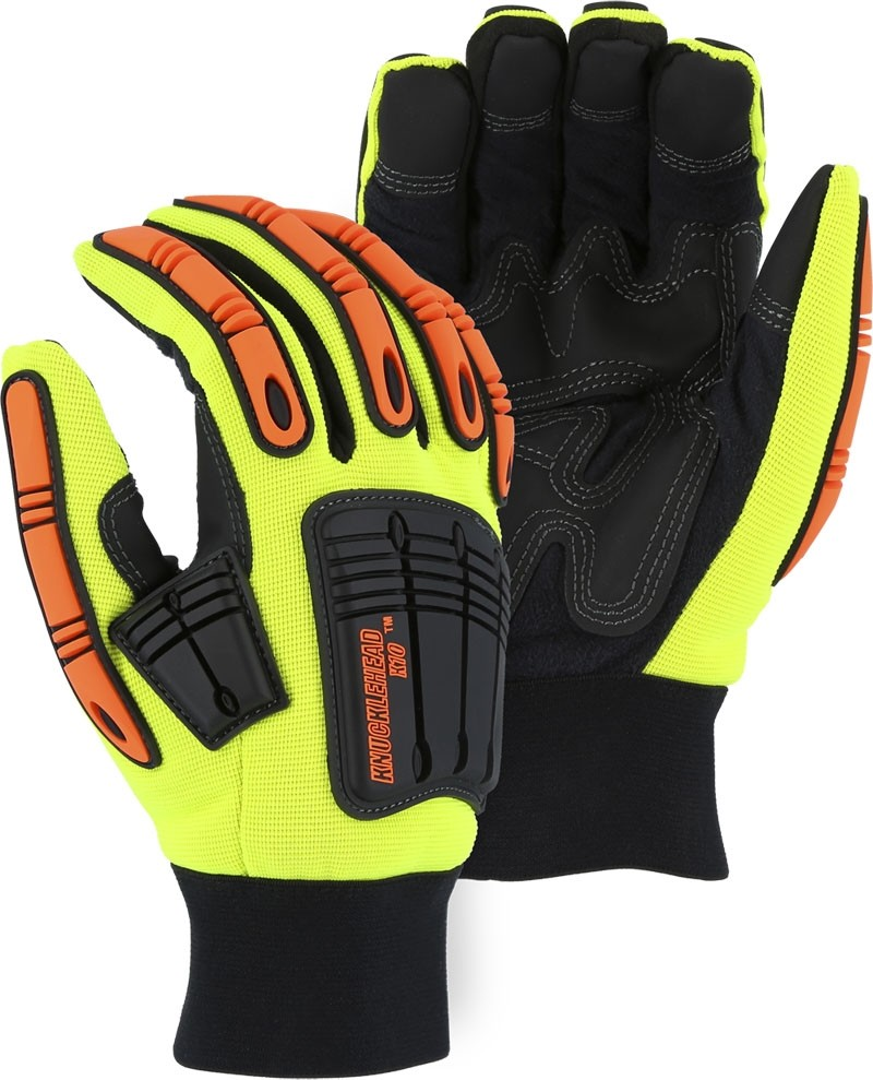 Knucklehead Glove X10 Armor (Sold by the pair ONLINE) Size X-LARGE