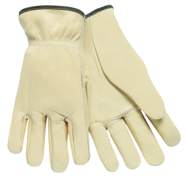 3201 - Drivers glove, Select Grade Unlined Grain Cow Leather, Straight Thumb