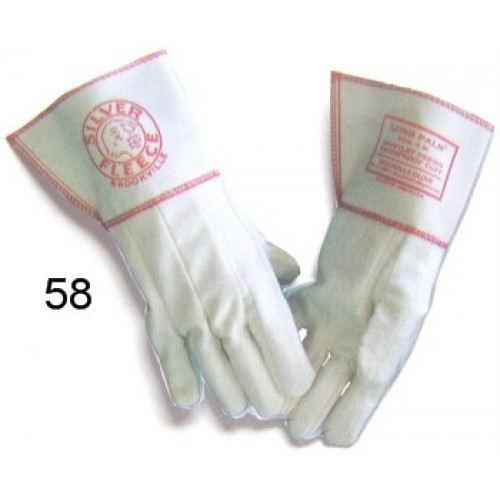 Silver Fleece 58 (qty 1 pair)