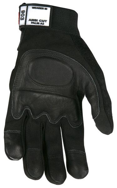 903 - MCR Safety Multi-Task, Grain goatskin palm with foam padding, Spandex back