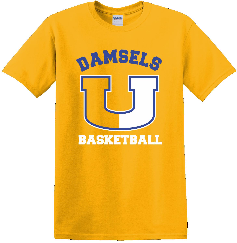 Union Girls Basketball Gold T-Shirt