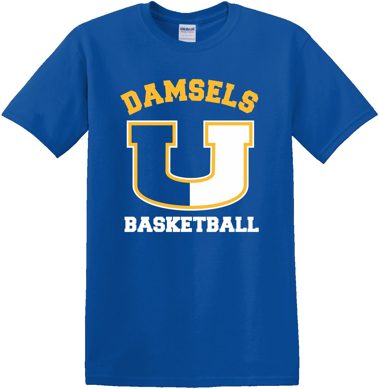 Union Girls Basketball Royal T-Shirt
